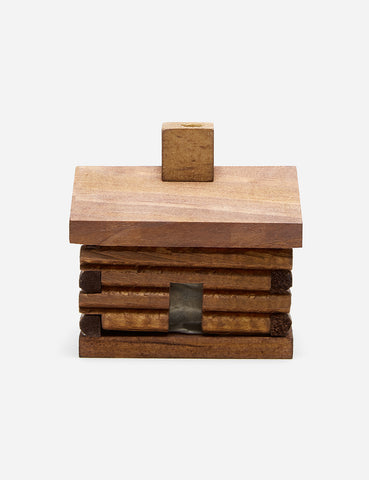 Paines Cabin Incense Burner - Brown