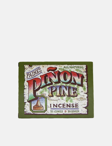 Paines Pinon Pine Incense (32 Cones) - Natural