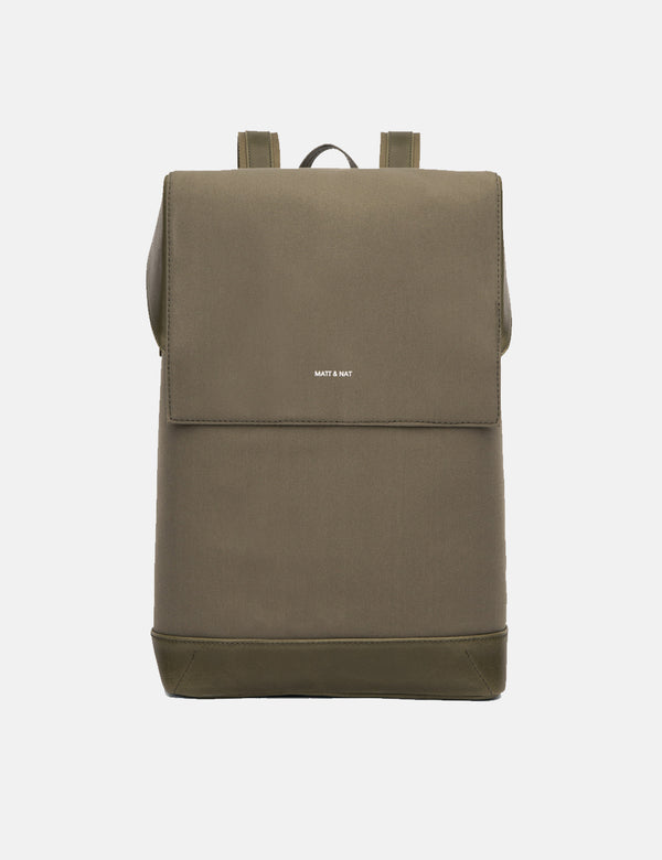 Matt & Nat Hoxton Backpack - Olive Green
