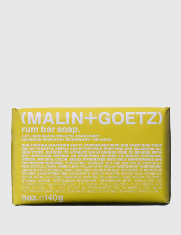 Malin+Goetz Bar Soap - Rum
