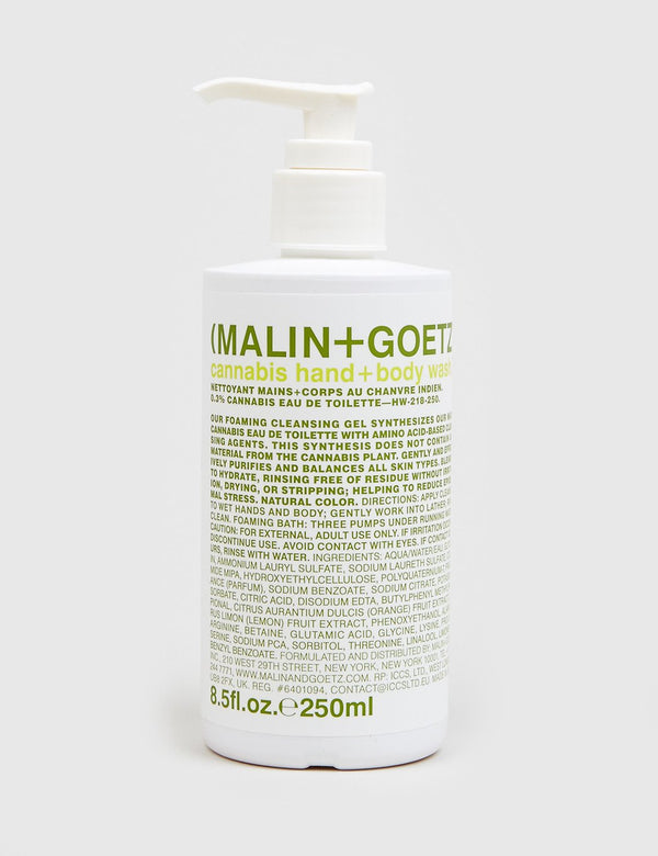 Malin+Goetz Hand & Body Wash - Hemp