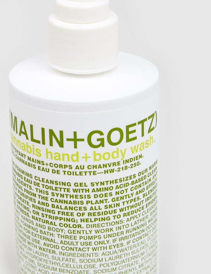 Malin+Goetz Hand & Body Wash (250ml) - Hemp