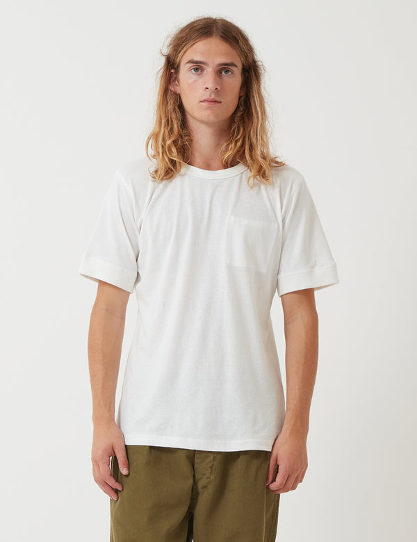 Nigel Cabourn Army T-Shirt - Natural