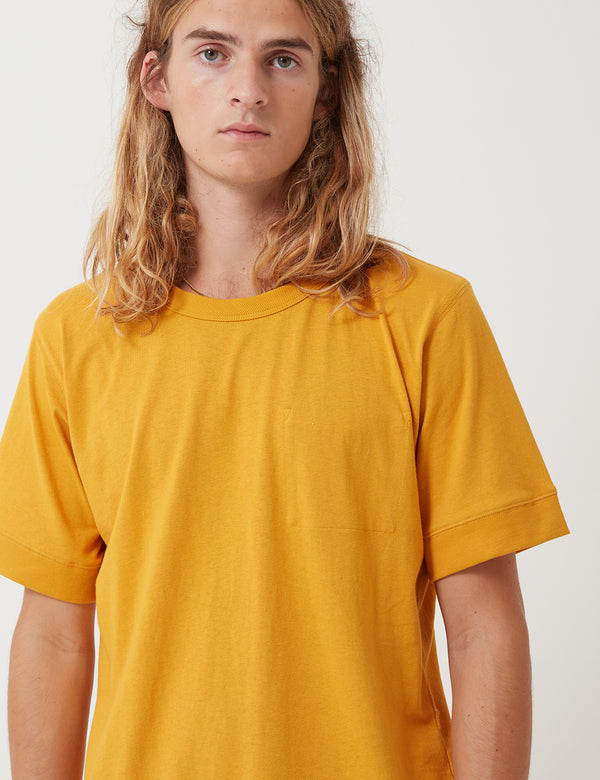 Nigel Cabourn Army T-Shirt - Yellow