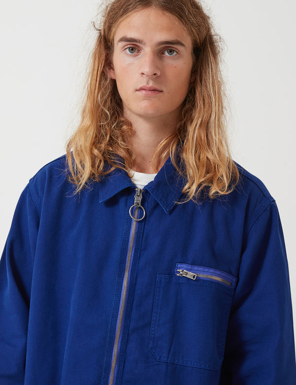 Nigel Cabourn Welders Jacket - Royal Blue