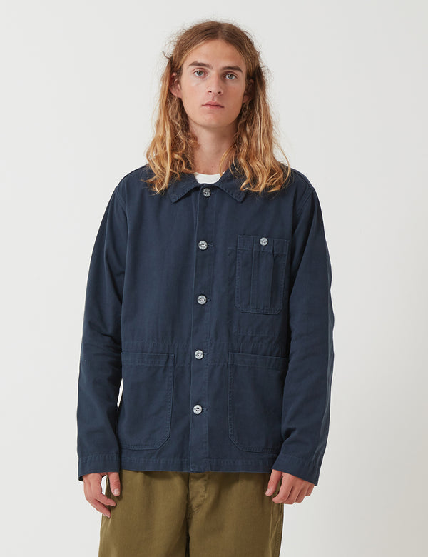 Nigel Cabourn British Army Jacket - Black Navy