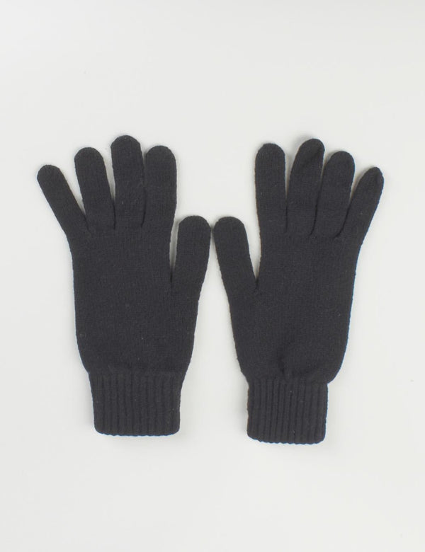 Johnstons of Elgin Cashmere Gloves (Unisex) - Black