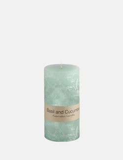 Dassie Artisan Pillar Candle (Small) - Basil & Cucumber - Article