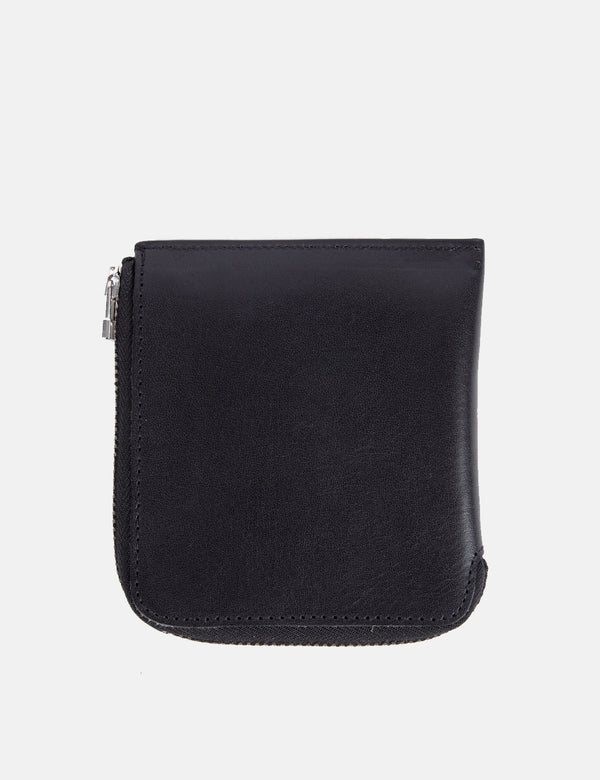 Folk Zip Wallet - Black