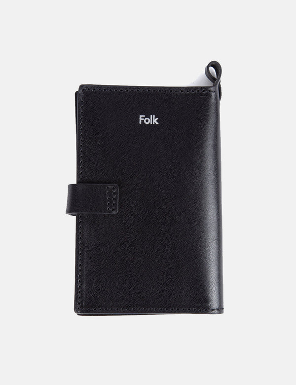 Folk Card Holder - Black