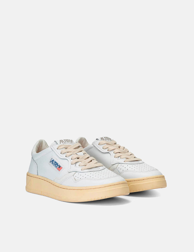 Autry Medalist LL15 Trainers (Leather) - White