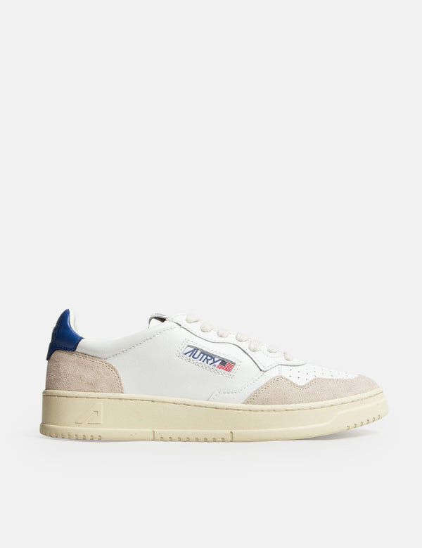 Autry Medalist LS34 Trainers (Leather/Suede) - White