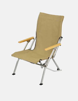 Snow Peak Low Chair (Folding) - Khaki