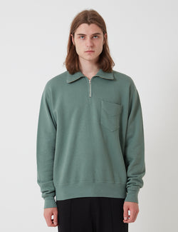 Lady White Co. Quarter Zip Sweatshirt - Ez Sage