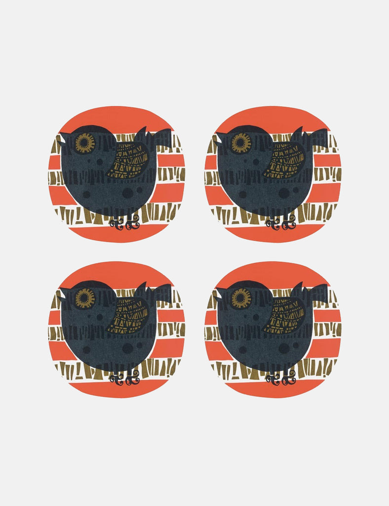 Cubic Shadow Bird Coaters - Black/Red - Article