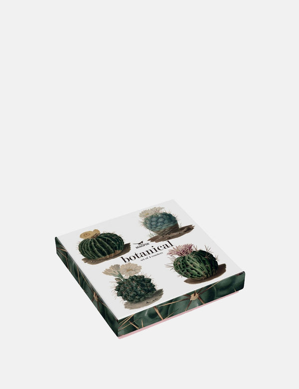 Cubic Cactus Coaters - Green - Article