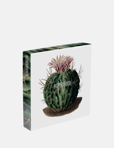 Cubic Cactus Wall Clock - Green - Article