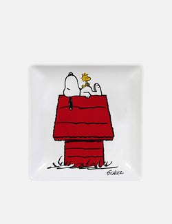 Peanuts Snoopy Home Trinket Tray (Square) - White