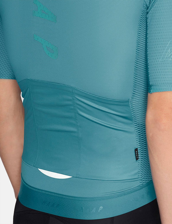 MAAP Stealth Race Fit Jersey - Cyan