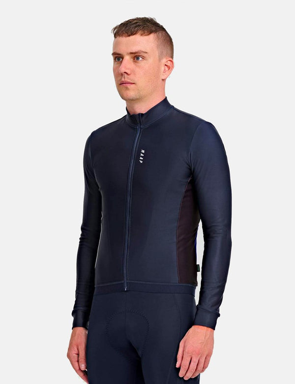 Maillot manches longues MAAP Vista Team - Navy Blue