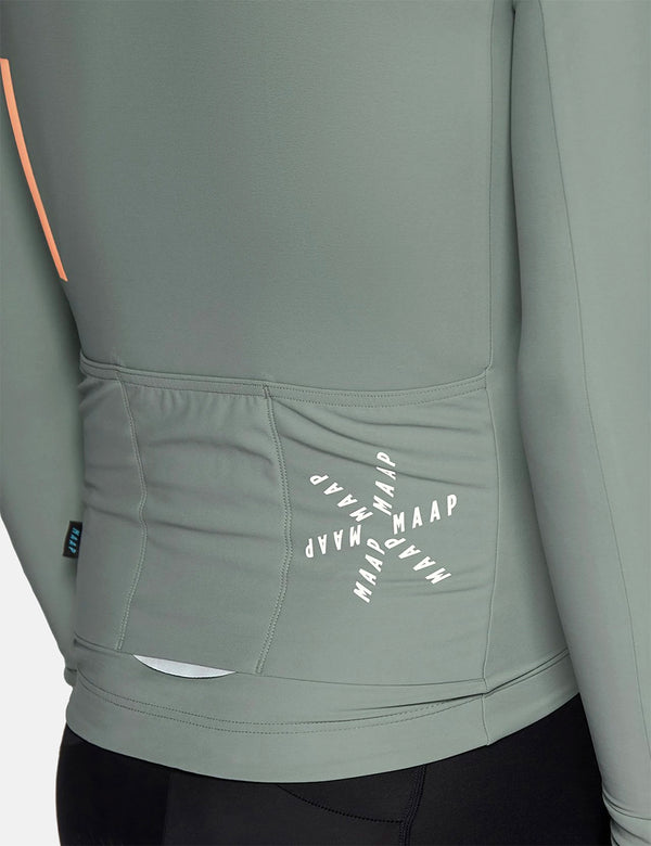 MAAP Maillot Entraînement L/S - Willow Green