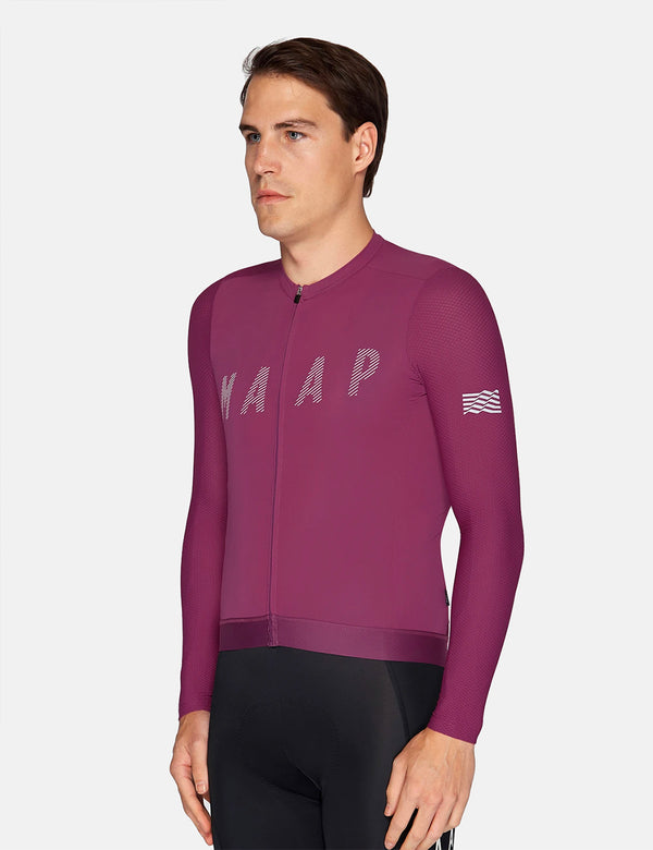 MAAP Echo Pro Base L/S Jersey - Grape