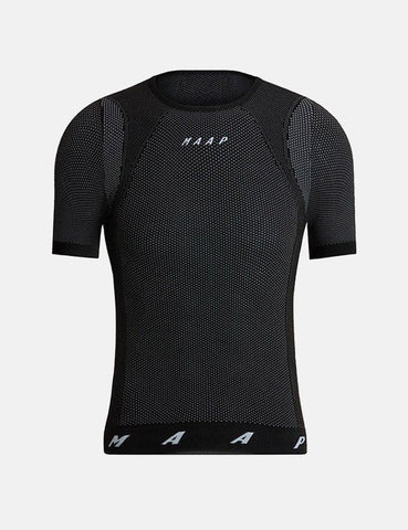 MAAP Seamless Base Layer Tee - Black