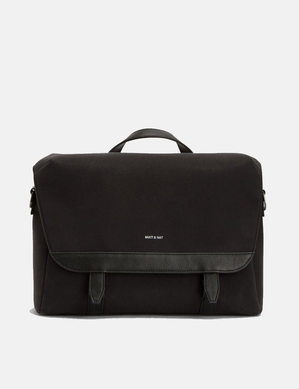 Matt & Nat Martel Messenger Bag - Black