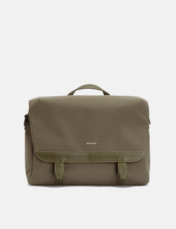 Matt & Nat Martel Messenger Bag - Olive Green