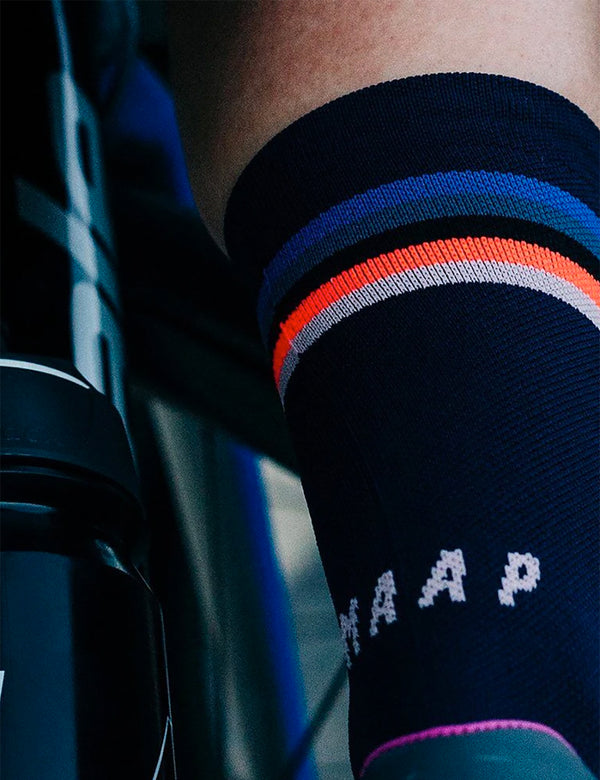 MAAP Worlds Sock - Navy Blue