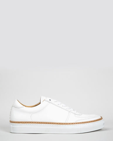 No. 288 Grand Low-Top Trainers - White