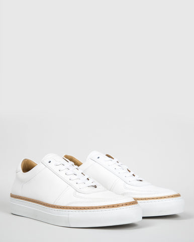No. 288 Prince Low-Top Trainers - White