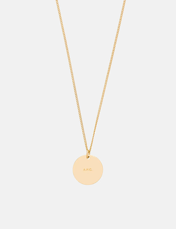 A.P.C. Eloi Necklace - Gold