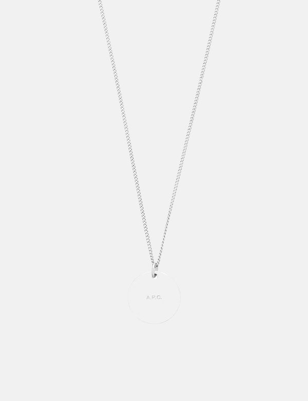 A.P.C. Eloi Necklace - Silver
