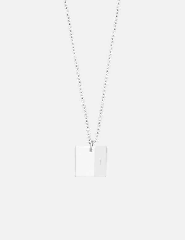 A.P.C. Nolan Necklace - Silver