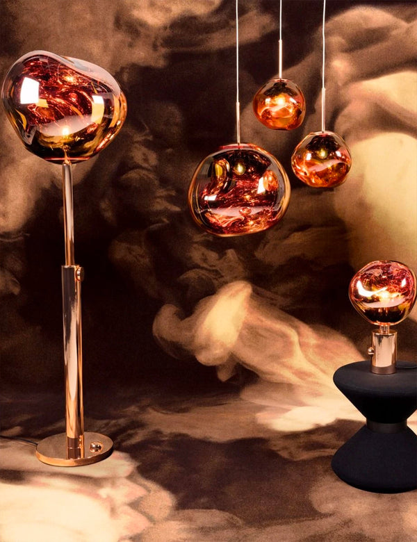Tom Dixon Melt Mini Suspension (LED) - Cuivre