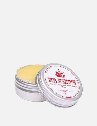Mr King's Marvellous Moustache Wax - 15g