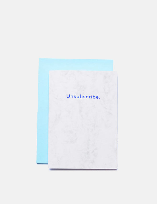 Mean Mail Unsubscribe - Card