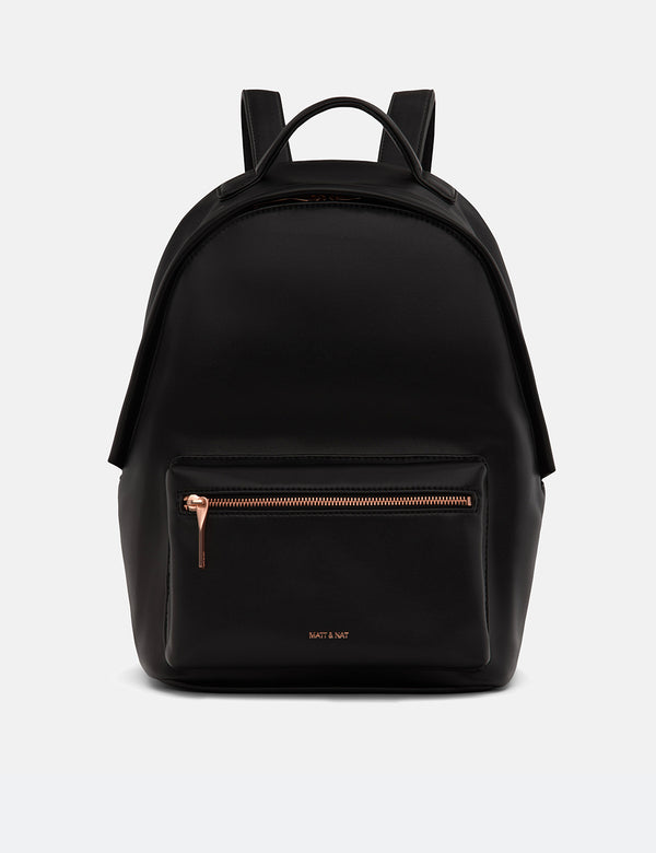 Matt & Nat Bali Backpack (Vegan Leather) - Black