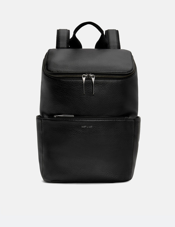 Matt & Nat Brave Backpack (Vegan Leather) - Black