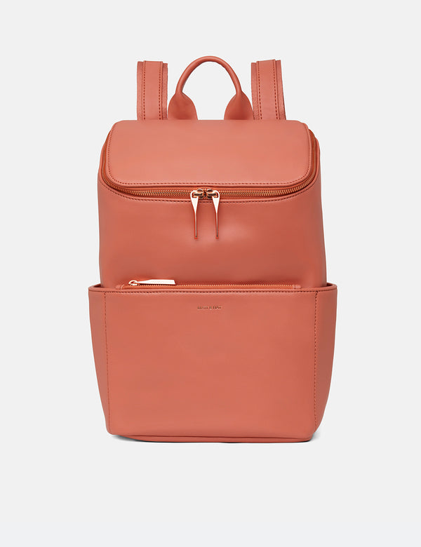 Matt & Nat Brave Backpack (Vegan Leather) - Ombre Peach
