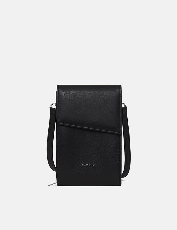 Matt & Nat MET Crossbody Wallet - Black