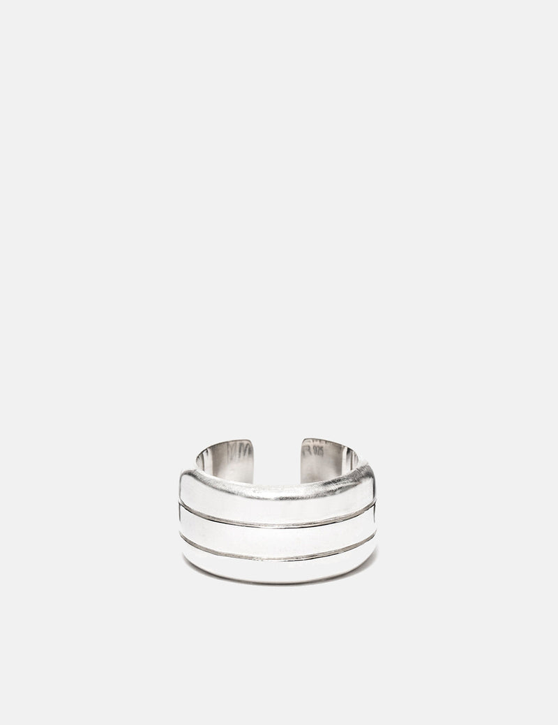 Maple Line Ring - Silver 925