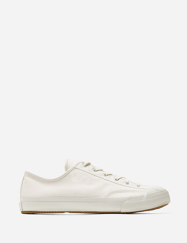 Moonstar Gym Classic Low Trainers (Canvas) - Off White