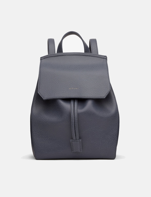 Matt & Nat Mumbai Backpack - Ink Grey