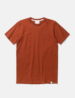 Norse Projects Niels Standard T-Shirt - Madder Brown