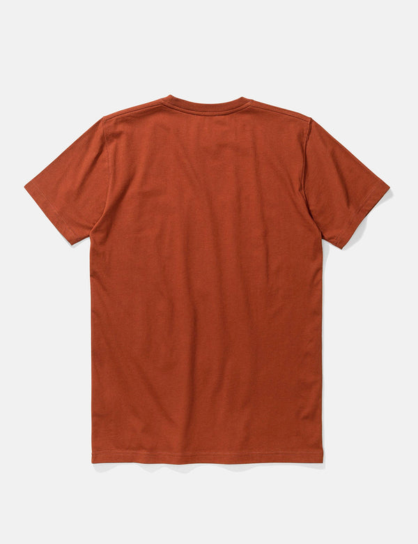 T-Shirt Norse Projects Niels Standard - Madder Brown