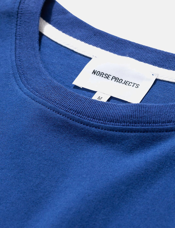 Norse Projects Niels Standard T-Shirt (Organic Cotton) - Twilight Blue