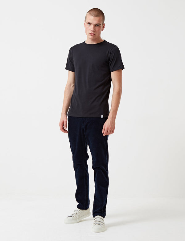 Norse Projects Niels Standard T-Shirt (Organic Cotton) - Black