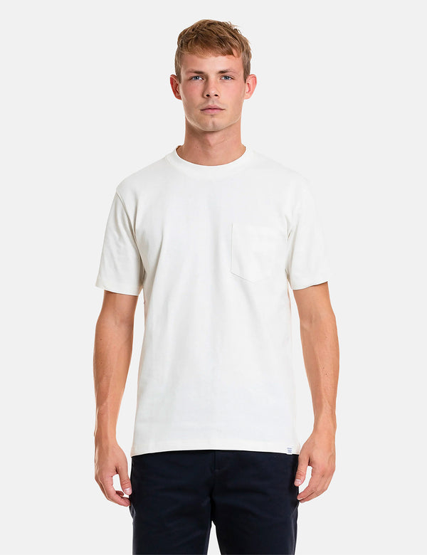 Norse Projects Johannes Pocket T-Shirt - Ecru